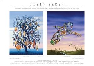Talk Talk Limited Edition print set by James Marsh