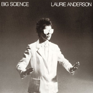 Laurie Anderson - Big Science Album Cover
