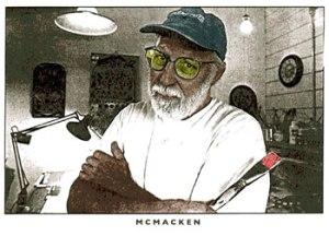 Photo of artist Dave McMacken