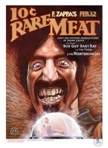 Rare Meat poster by Dave McMacken