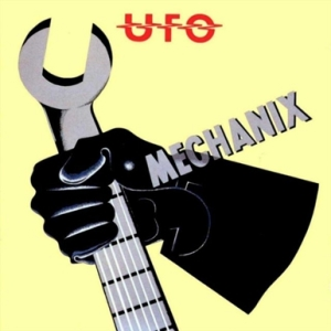 album cover UFO Mechanix John Pasche