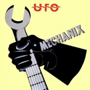 album cover UFO Mechanix John Pasche
