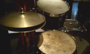 Mitch Mitchell drum set EMP
