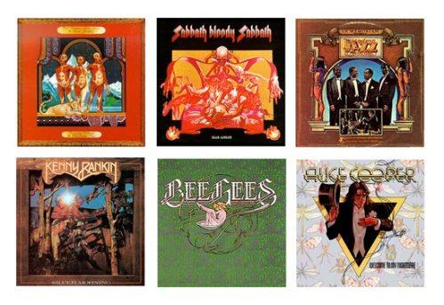 Ernie Cefalu, Drew Struzan, album cover