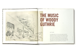 Woody Guthrie, drawings, archives, Woody at 100
