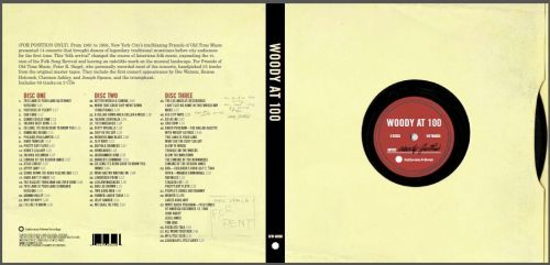 Woody at 100, Woody Guthrie, design, comp