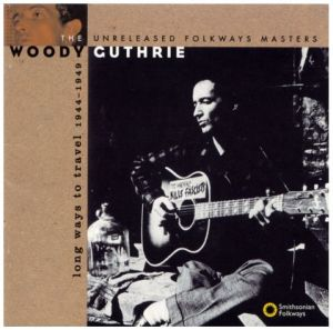 woody guthrie, long way to travel, fritz klaetke, designer