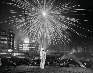 Brian Griffin, photographer, Broadgate, Big Bang