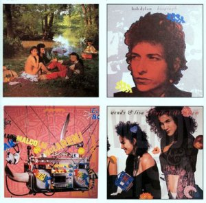 Nick Egan, album cover, Bow Wow Wow, Bob Dylan, Duck Rock, INXS