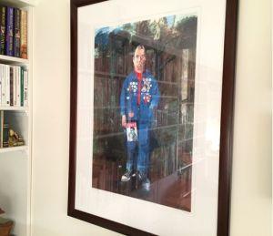Rob Smeaton Peter Blake Self Portrait art print