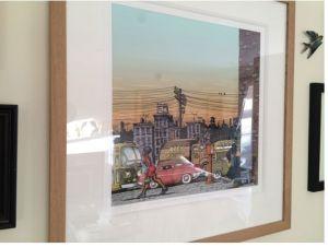 Rob Smeaton R Crumb Detroit art print limited edition