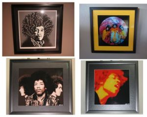 Hendrix, album cover, poster, Ferris, Van Hamersveld