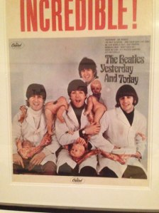Eric Christensen, Mike Goldstein, The Beatles, album cover, album cover art, butcher cover, record sleeve, poster, Yesterday and Today