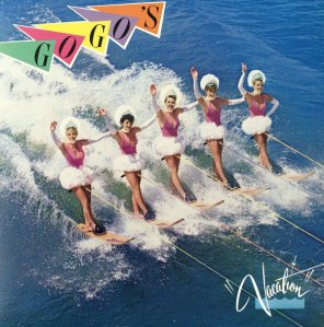 Mick Haggerty, album cover, designer, Mick, Haggerty, portfolio, Album Cover Hall of Fame, interview, biography, Go Gos, The Go-Gos, Vacation, 1982