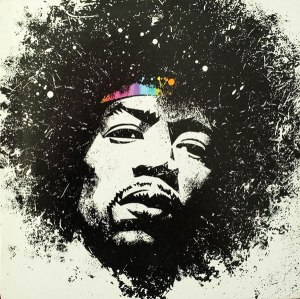 Mick Haggerty, album cover, designer, Mick, Haggerty, portfolio, Album Cover Hall of Fame, interview, biography, Hendrix, Jimi, Jimi Hendrix, Kiss The Sky