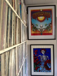 Eric Christensen, ACHOF, Featured Fan Collection, album cover, The Cover Story, article, interview, Mike Goldstein, collection, record sleeve, Mouse, Kelley, Grateful Dead, Aoxomoxoa, Roses