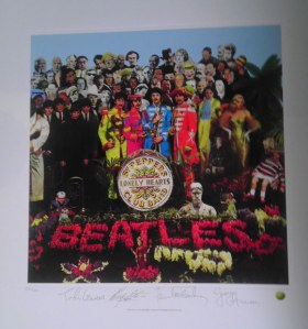 Eric Christensen, ACHOF, Featured Fan Collection, album cover, The Cover Story, article, interview, Mike Goldstein, collection, record sleeve, Beatles, Sgt. Peppers, Peter Blake