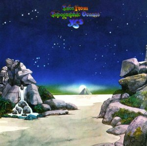 Eric Christensen, ACHOF, Featured Fan Collection, album cover, The Cover Story, article, interview, Mike Goldstein, collection, record sleeve, Roger Dean, YES, Tales From Topographic Oceans
