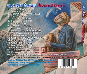 The Insanitizers, Conrad Swartz, Collection, Fan Collection, ACHOF, interview, article, Mike Goldstein, surf guitar, Wild Surf Guitars, Devin Bernard