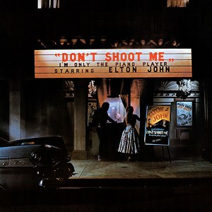 Don't Shoot Me I'm Only The Piano Player, David Larkham, Elton John, Goodbye Yellow Brick Road, album cover, album cover art, record sleeve, Ian Beck, interview, Mike Goldstein, Album Cover Hall of Fame