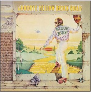 David Larkham, Elton John, Goodbye Yellow Brick Road, album cover, album cover art, record sleeve, Ian Beck, interview, Mike Goldstein, Album Cover Hall of Fame