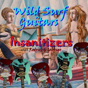 The Insanitizers, Conrad Swartz, Collection, Fan Collection, ACHOF, interview, article, Mike Goldstein, surf guitar, Wild Surf Guitars, CD