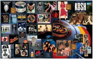Kosh, John Kosh, designer, art director, Linda Ronstadt, album cover, record cover, record sleeve, package, sleeve, Lush Life, Grammy, Grammy Award, award winner, Beatles, Lennon, ELO, Eagles, Ringo, The Who
