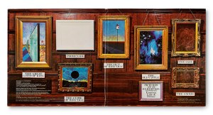 David Hamsley, gatefold, album cover, record cover, record sleeve