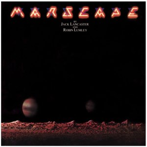 Paul Wakefield, Marscape, album cover, photograph, record sleeve, record cover