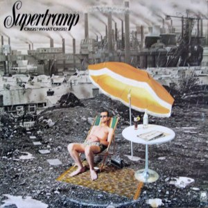 Paul Wakefield, Supertramp, Crisis, record cover, album cover, record sleeve