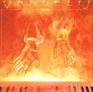 Paul Wakefield, Vangelis, Heaven and Hell, album cover, record cover, record sleeve