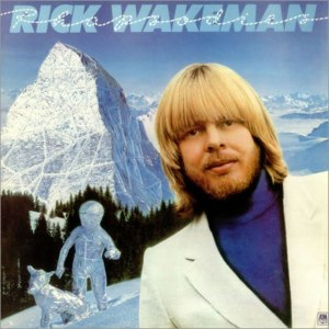Rick Wakeman, Rhapsodies, Paul Wakefield, album cover, record cover, record sleeve
