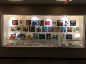 RISD Album Cover Art Display
