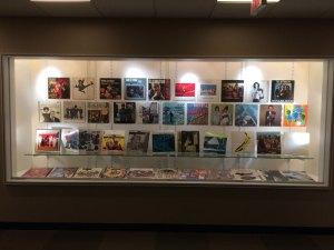 RISD Album Cover Art Display