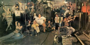 Bob Dylan & The Band Basement Tapes album cover art