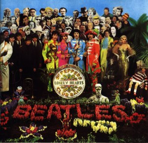 The Beatles Sgt Peppers Lonely Hearts Club Band album cover art