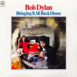 Bob Dylan Bringing It All Back Home album cover art