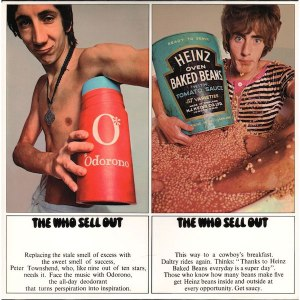 The Who Sell Out album cover art