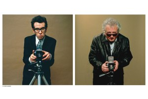 Chris Gabrin and Elvis Costello portraits