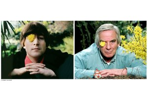 Robert Whitaker and John Lennon portraits